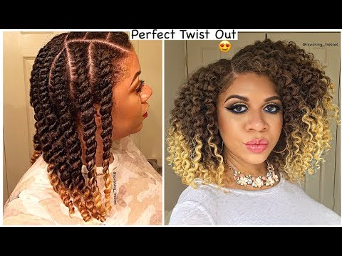 How To Get A PERFECT Twist Out EVERY TIME! | Natural Hair