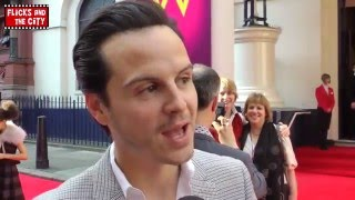 Andrew Scott on New Doctor Who & Sherlock Season 3 Moriarty