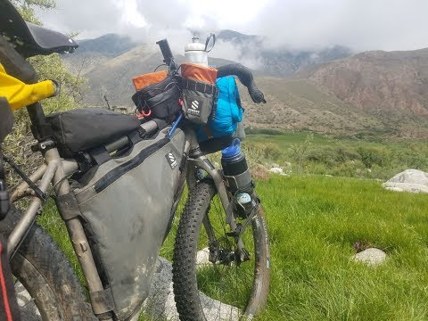 "Bikepacking Kyrgyzstan and Kazakhstan - ""The Americans"" Episode 1 of 2"