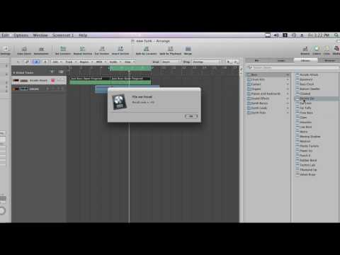 "the solution for "" file not found result code = - 43 "" on logic pro"