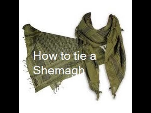 How To Tie a Shemagh – Three Different Methods