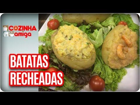 Batatas Recheadas - Chef Gabriel Barone | Cozinha Amiga (12/05/17)