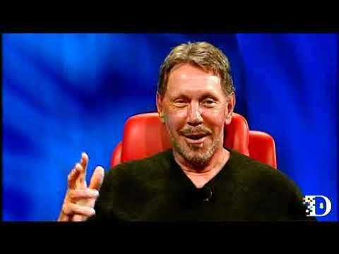 Ed Catmull and Larry Ellison on Steve Jobs at D10 (Full)