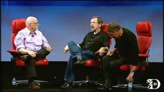 Ed Catmull and Larry Ellison on Steve Jobs at D10 (Full)