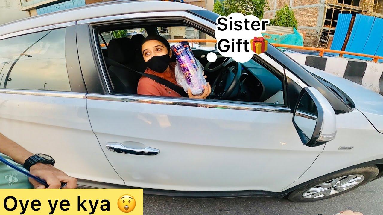 Sister ne kiya Tamasha On Road🤬Sister SuperBike Chla sakti hai? Ye kya mjaak hai😱