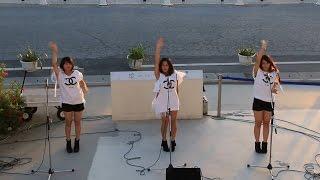 沖縄、瀬長島ウミカジテラスのイベント、沖縄のアイドル「Tincy(ティン...