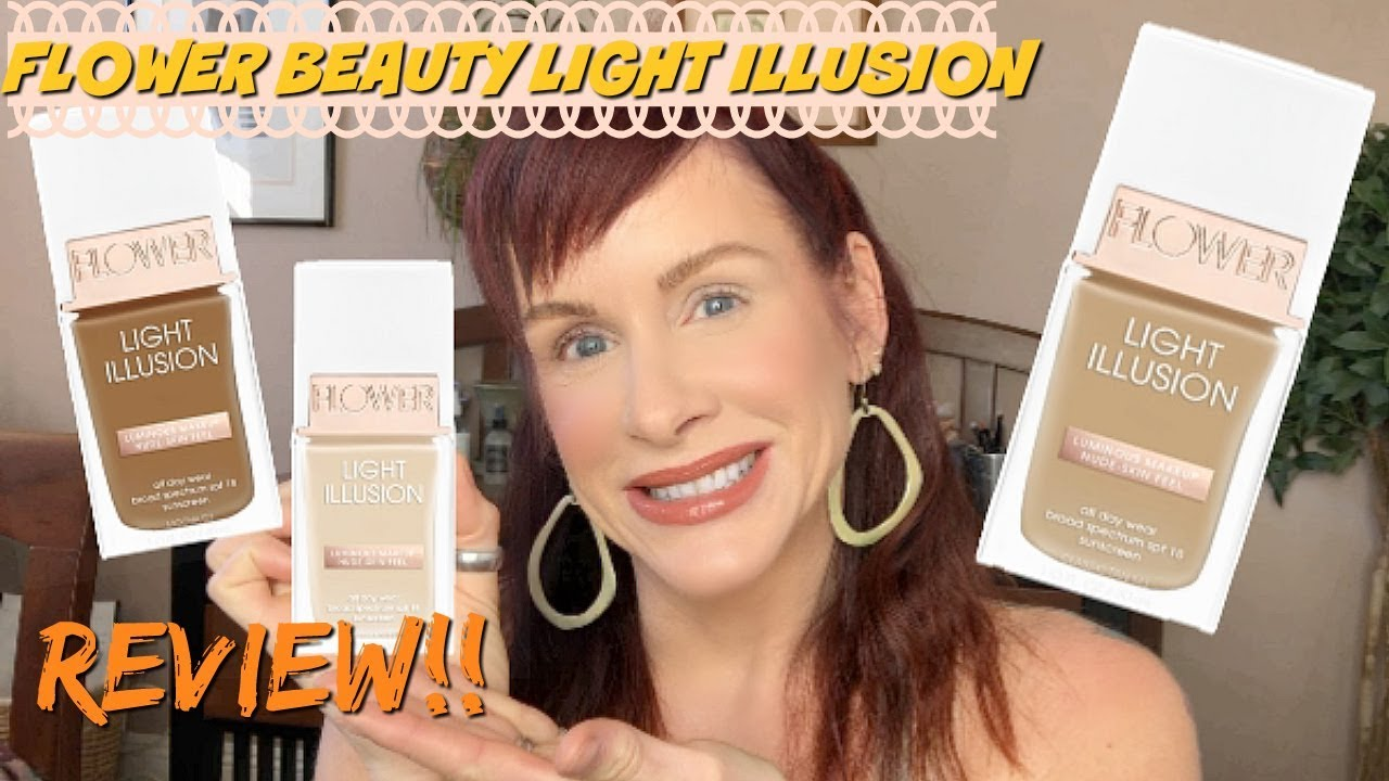Flower beauty light illusion foundation review youtube flower beauty light illusion foundation review izmirmasajfo