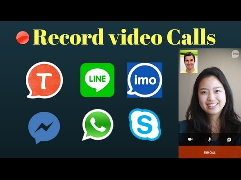 How To Record Video Calls (No Root) -Imo,Skype,Messenger,Facebook - Record Skype Video Calls