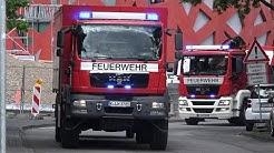Katastrophenalarm im Kreis Wesel - Einsatzfahrten Feuerwehr Köln