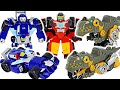 Transformers Rescue Bots Academy Grimlock, Whirl and Hot Shot! Go! | DuDuPopTOY