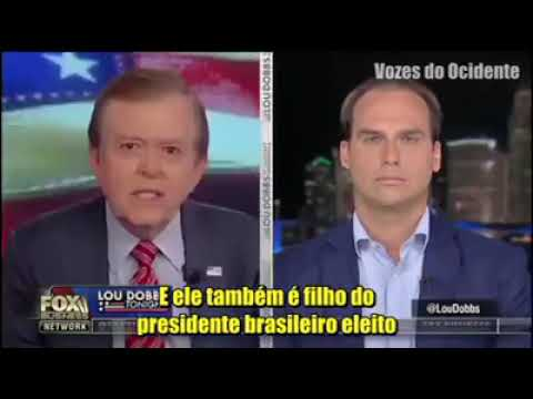 Ao canal Fox Business, o deputado federal reeleito Eduardo B