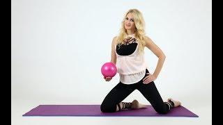 Топ-9 упражнений с мячом: как уменьшить талию и как подтянуть живот