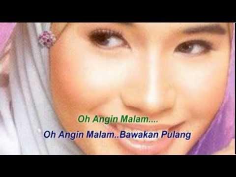 Senandung Malam (no rap) lirik - Waheeda