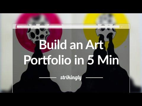 Build an Art Portfolio Website in Under 5 Minutes