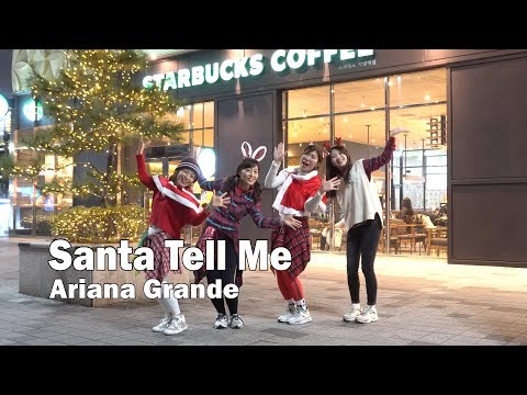 Santa Tell Me - Ariana Grande / Zumba® / Christmas / Choreography / ZIN™ / WZS CREW / Nami