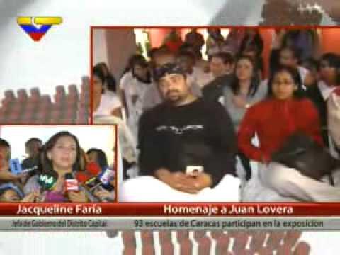 93 escuelas de Caracas exponen obras de Juan Lovera, pintor de la gesta heroica