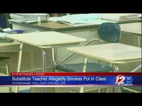 Hudson - High School Teacher Smokes Weed In Class