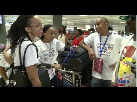 Les Etudiants Congolais sont arrives aux USA pour echanges avec les etudiants americains