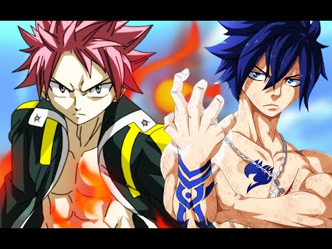 Anime Fighting Wallpaper Fairy Tail Natsu Vs Gray Youtube