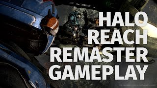 Halo Reach Remaster X019 4k Gameplay | Master Chief Collection