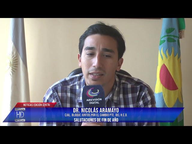 Nicolás Aramayo Salutaciones de fin de año