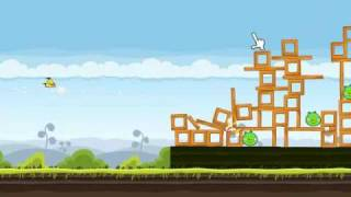 Angry Birds Gameplay #4 Mighty Hoax Level 4/1-21