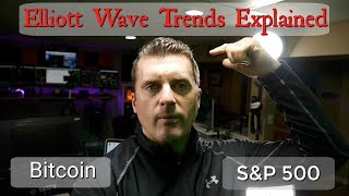 Elliott Wave Trends Explained in Bitcoin the S&P 500