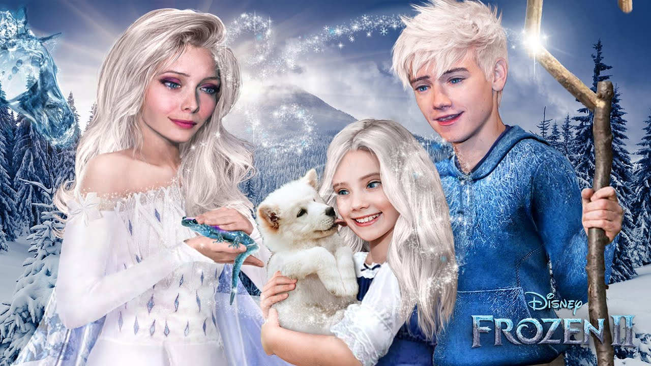 Download Frozen 2: Elsa and Jack Frost IN REAL LIFE! And they have a daughter! Disney Frozen 2 ❄💙Alice Edit!