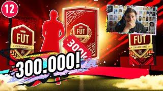 ZAWODNIK WARTY 300.000 COINSÓW TRAFIONY! NAGRODY ZA FUT CHAMPIONS LA FIFA 20 [#12] JUNAJTED