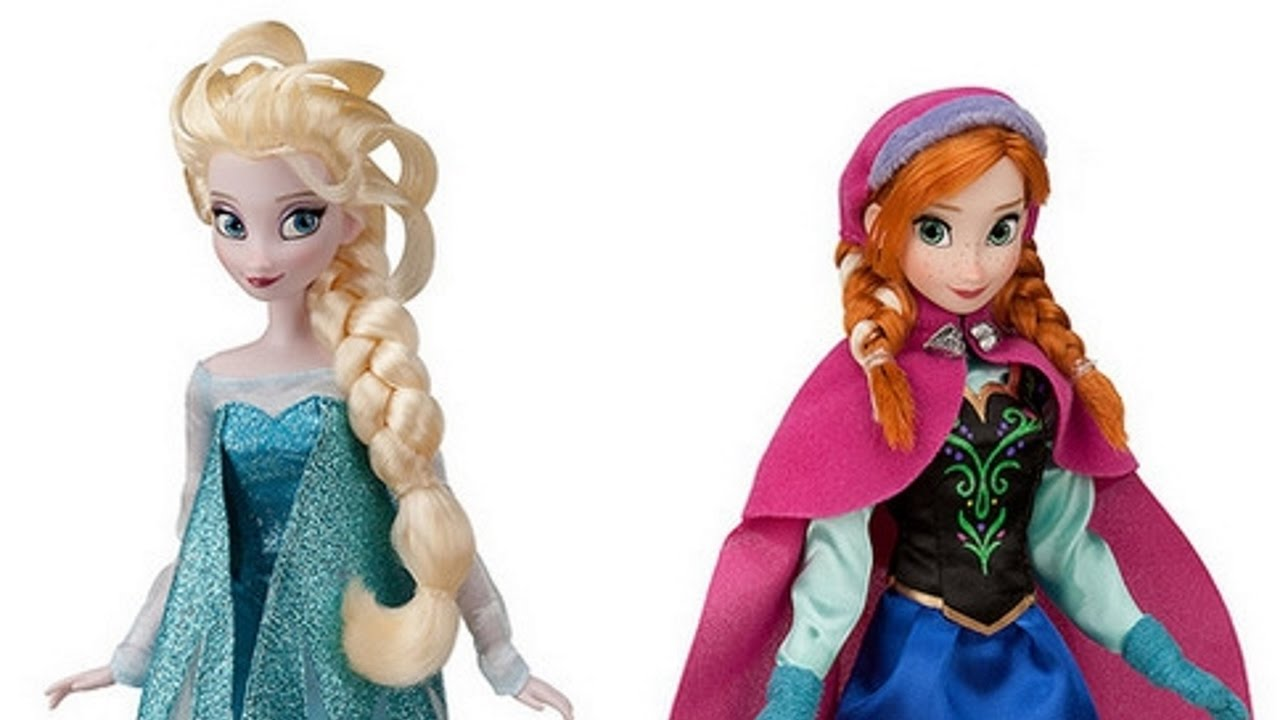 Anna ed elsa frozen ep giochi per bambine bambole