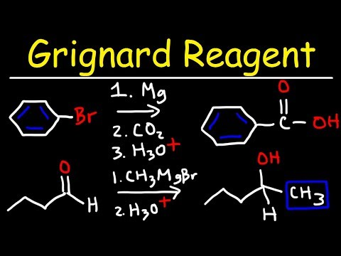 Grignard Reagent Reaction Mechanism