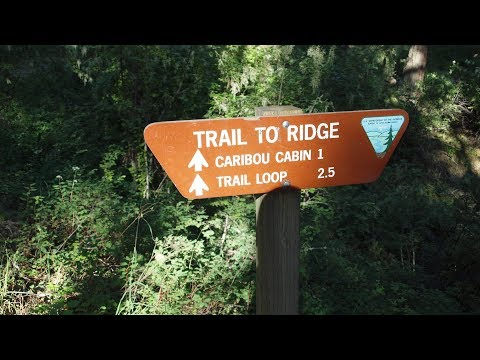 Hiking Mineral Ridge trail and drone flight Wolf Lodge Bay, Coeur D'Alene Lake Idaho