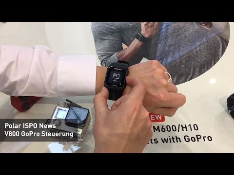 ISPO News - Polar V800 GoPro Steuerung