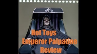 Hot Toys Emperor Palpatine 1/6 Scale Figure Review 4K