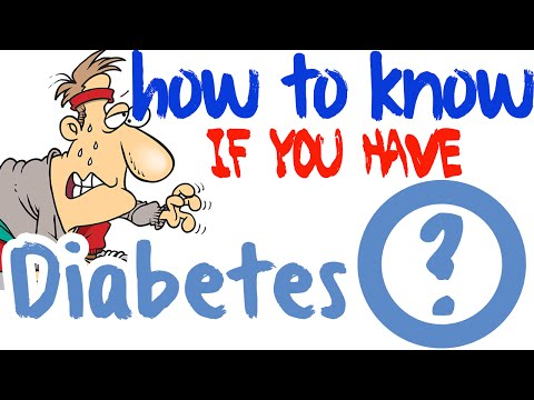 How Do You Know If You Have Diabetes - Type 2 Diabetes Symptoms