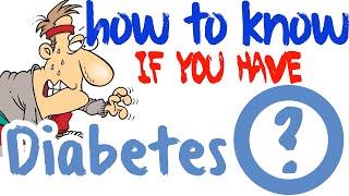 How Do You Know If You Have Diabetes - Type 2 Diabetes Symptoms