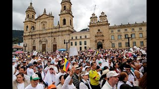 #NoAlTerrorismo: Así transcurrieron las marchas en Colombia | Noticias Caracol