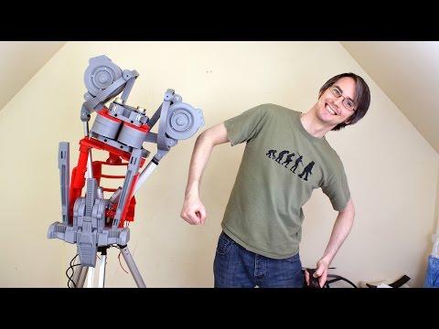 XRobots - Ultron Part 11, A REAL ROBOT - Actuators and Motion Testing