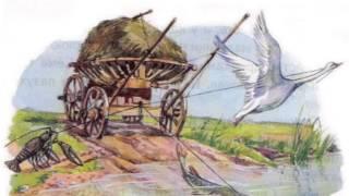 Лебедь, рак и щука, басня Крылова