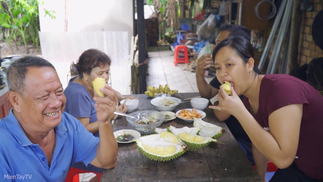 Trời Mưa Co To Canh Chua ăn ấm Long Miền Tay Tv Youtube