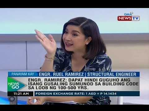 NTG: For The Record: Engr. Ruel Ramirez, Principal Structural Engineer, RBRA Engineering...