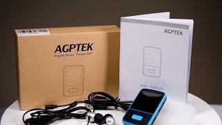 AGPtEK G05 8GB Portable Clip Mp3 Player with FM Radio