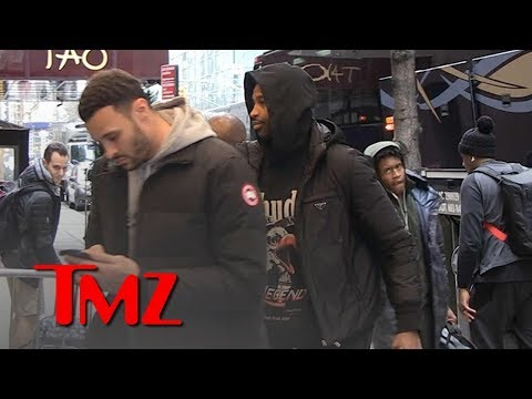 Tristan Thompson Stays Quiet When Asked about Jordyn Woods Cheating Scandal | TMZ