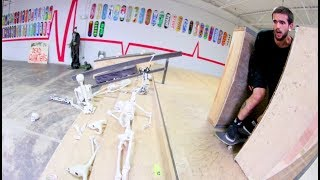 The Skateboarding DEATH ROLL UP! / Warehouse Wednesday