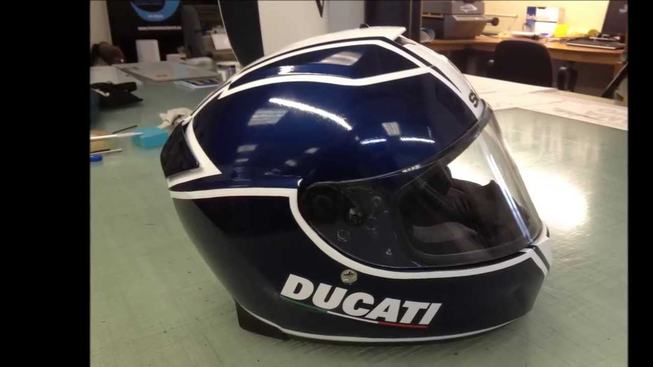 KPMF Helmet Wrap YouTube - Vinyl wrap for motorcycle helmets