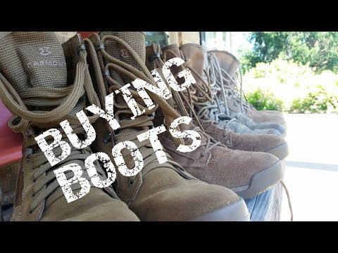 Choosing Military Boots