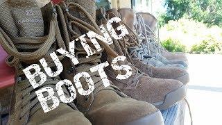 Fetish military Boot