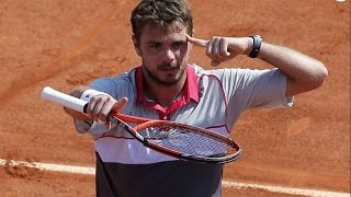 Stan Wawrinka - Top Ten Shots Of His Career