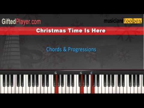 Christmas Time Is Here Piano Tutorial Youtube