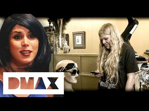 Kat Von D's Friend And New Employee Is Caught Talking To A Mannequin | LA Ink